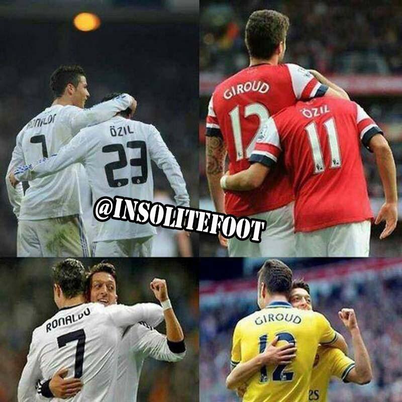 Avec Özil, certaines choses ne changent jamais!