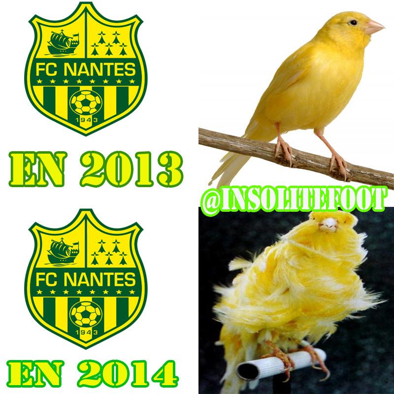 Ligue 1 : Le FC Nantes en chute libre!