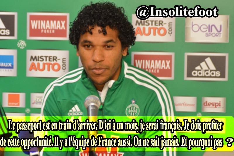 Brandao veut jouer le Mondial avec l'Equipe de France !