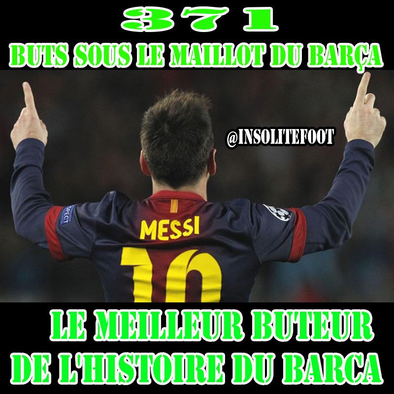 Lionel Messi est le meilleur buteur de l'histoire du Barça!