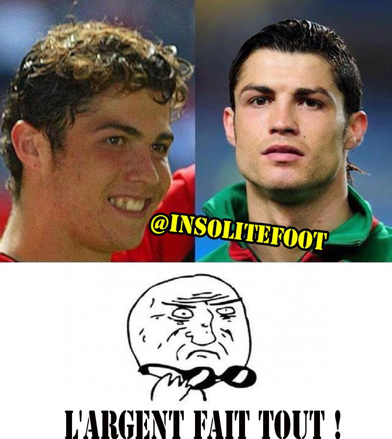 Cristiano Ronaldo et l'argent