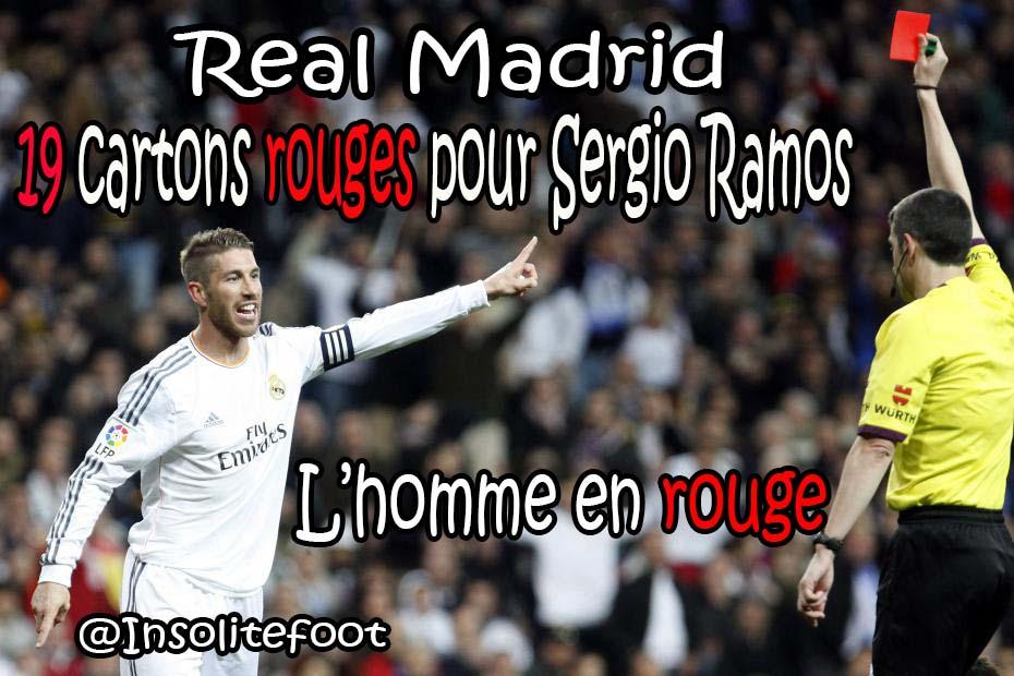 Real Madrid : Segio Ramos, l'homme en rouge!