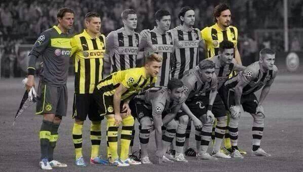 Voilà la différence entre le BVB 2013 et le BVB 2014 !