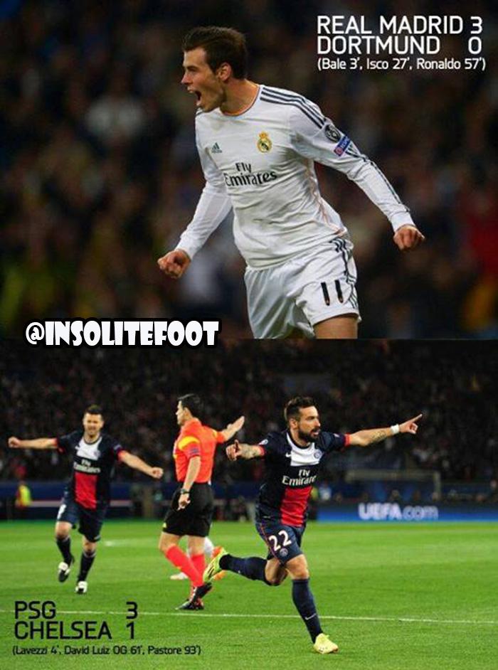 Ligue des champions : Le PSG et le Real Madrid prennent une option