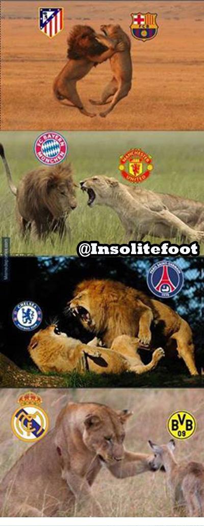 Retour sur les résultats de ces quarts de finale aller de la Ligue des Champions