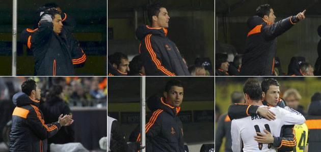 Cristiano Ronaldo en mode entraineur!!!