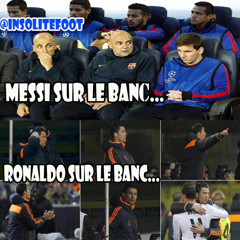 La différence entre Messi et Ronaldo!