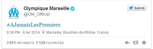 L'OM chambre le PSG sur Twitter après son élimination de Ligue des champions