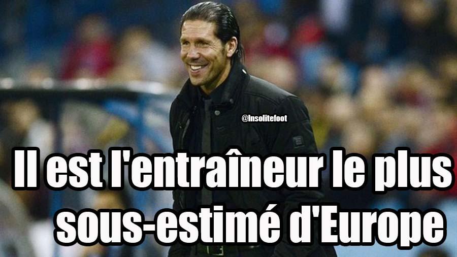 Il est l'entraîneur le plus sous-estimé d'Europe!