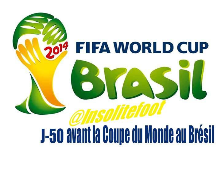 J-50 avant la Coupe du Monde au Brésil