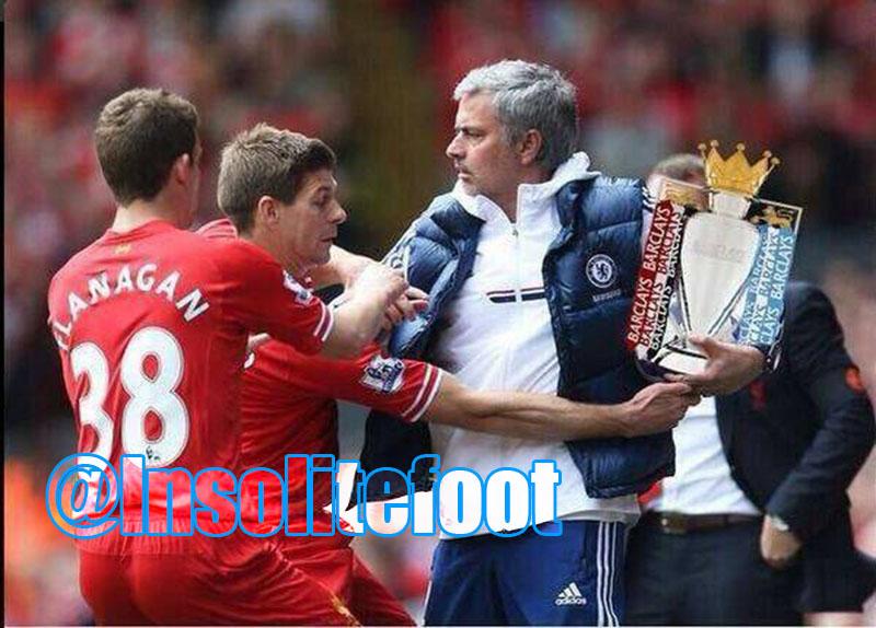 Liverpool-Chelsea : Quand José Mourinho fait le show