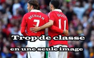 Giggs et Beckham...C'est la classe !