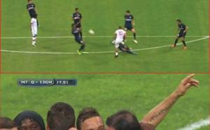 Totti et son fabuleux but face à l'Inter Milan !!!