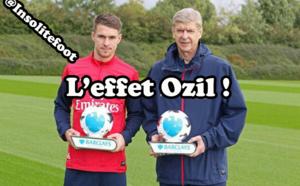 Arsène Wenger nommé entraîneur du mois et Aaron Ramsey joueur du mois en Premier League !