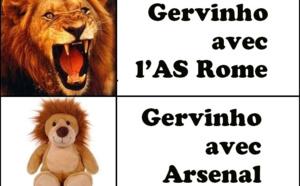 Les deux visages de Gervinho !!!