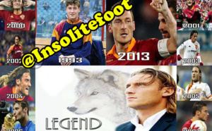 Francesco Totti toujours fidèle à l'AS Roma !