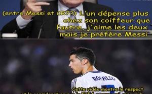 Le clash : Blatter vs Ronaldo !!!