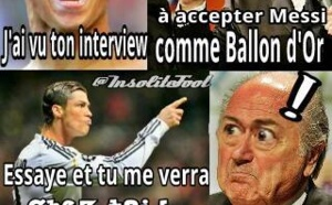 CR7 avertis Sepp !