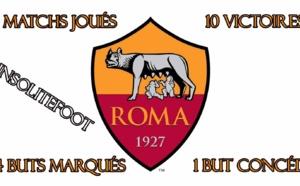 l'AS Roma de Rudi Garcia reçue 10 sur 10 !!!