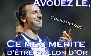 Ibrahimovic mérite-t-il d'être Ballon d'Or 2013 ?