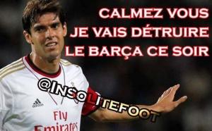 Kaka, ce mec qui fait peur au Barça !!!
