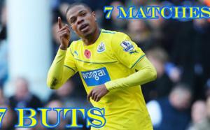 Newcastle : Loïc Rémy reçu 7 sur 7 !!!