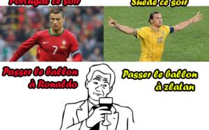 Portugal-Suède : Tellement vrai !!!