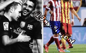 Iniesta et David Villa :Amis d'un jour,ami toujours !!!