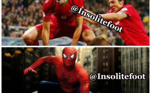 Pepe, le Spiderman !!!