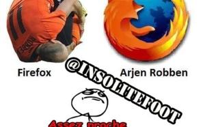 Arjen Robben, à sa façon!