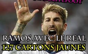 Real Madrid : Sergio Ramos, MR Rouge!