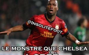 Ligue des champions : Drogba vs Chelsea!!!