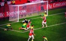 La Défense de Norwich après le but de Ramsey !!!