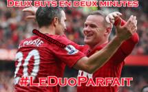 Rooney et Van Persie, le duo parfait !!!