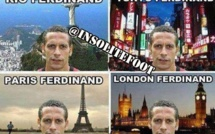 Le trop célèbre Rio Ferdinand!