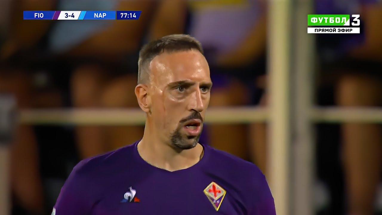 Franck Ribéry est tombé amoureux de la Fiorentina