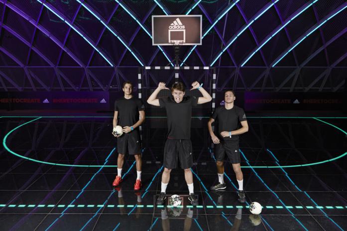 Creators Arena, adidas a créé le sport du futur et révèle les talents de demain