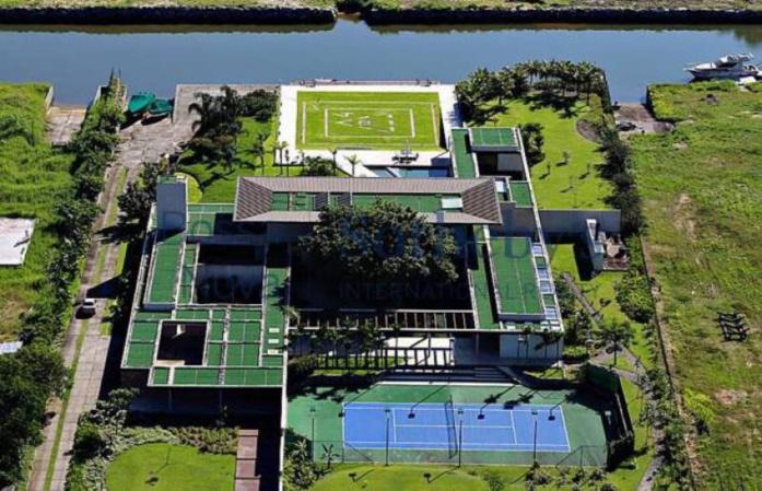 Neymar s'est offert une maison près de Rio pour 8M€