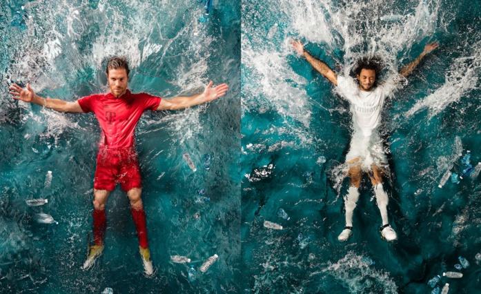 adidas a révélé les premiers maillots de football conçus à partir de déchets recyclés des océans