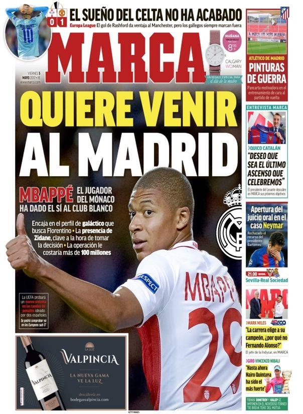 Mercato - Monaco : Mbappé aurait dit oui au Real Madrid