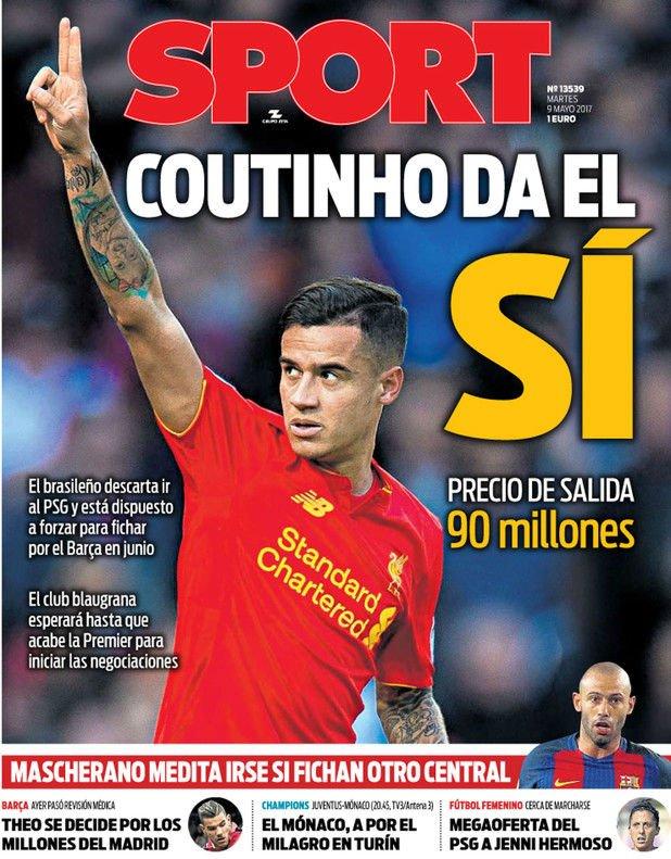 Mercato : Coutinho aurait dit oui au Barça