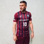 Lukas Podolski - Site officiel du Vissel Kobe