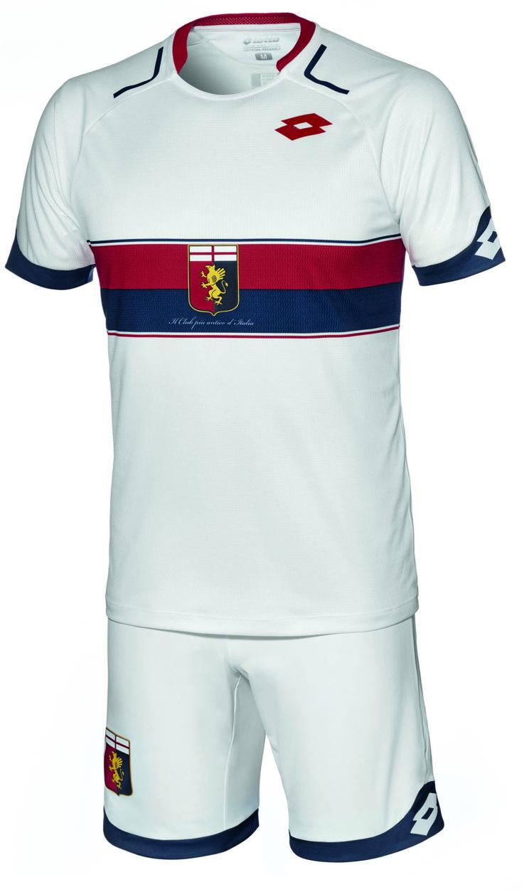 Lotto présente le nouveau maillot Extérieur du Genoa CFC