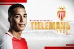 Youri Tielemans - Crédit : Site officiel de l'AS Monaco