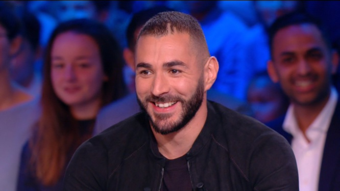Karim Benzema - Crédit : Capture écran Canal Football Club