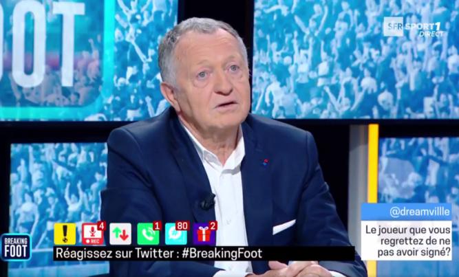 Jean-Michel Aulas - Crédit : capture écran SFR Sport