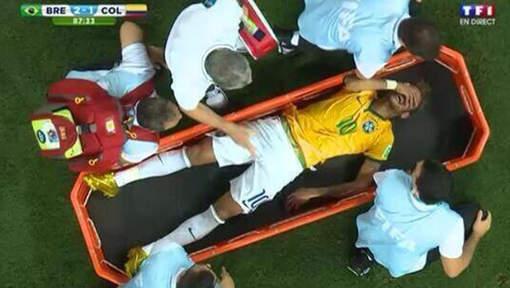 Neymar - Capture écran TF1