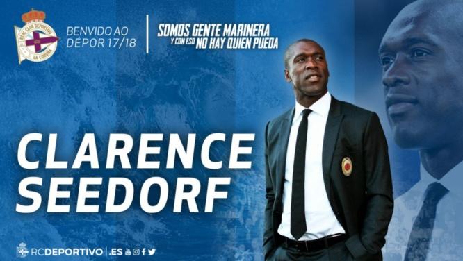 Clarence Seedorf nouvel entraineur de La Corogne