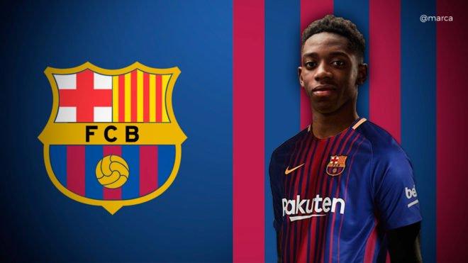 Ousmane Dembélé n'a pas encore l'esprit Barça