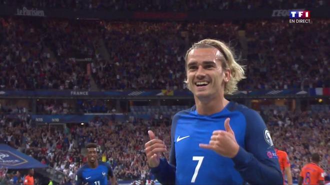 Antoine Griezmann - Capture écran TF1